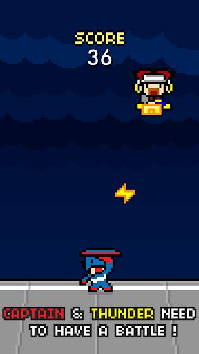 Captain vs Thunder - Hero Ally