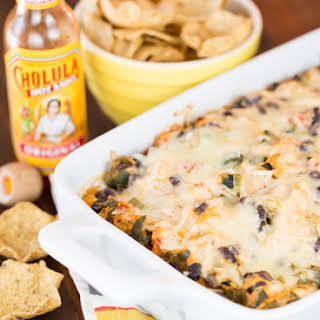 Cheesy Chile Chicken Dip.