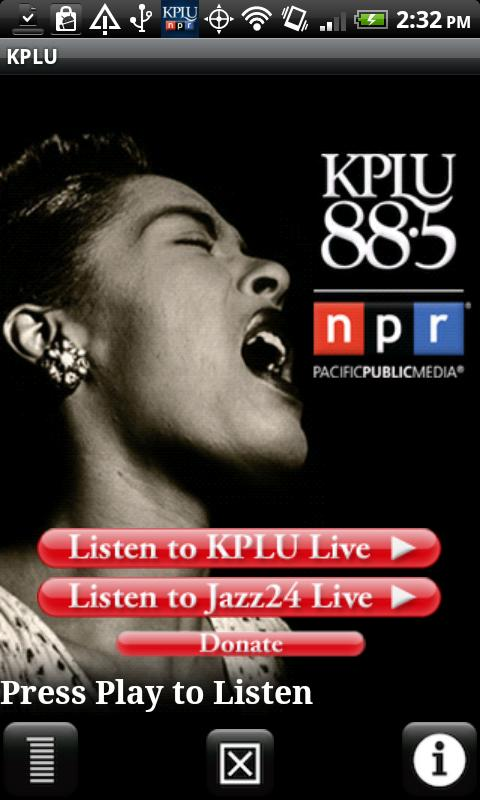 88.5 KPLU FM (Seattle/Tacoma) - screenshot