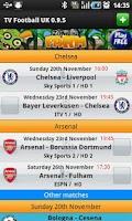 Screenshot of TV Football UK