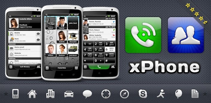 xPhone   Phone & Contacts v2.1
