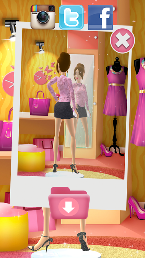 Fashion Design Dress Up Game Android Apps On Google Play