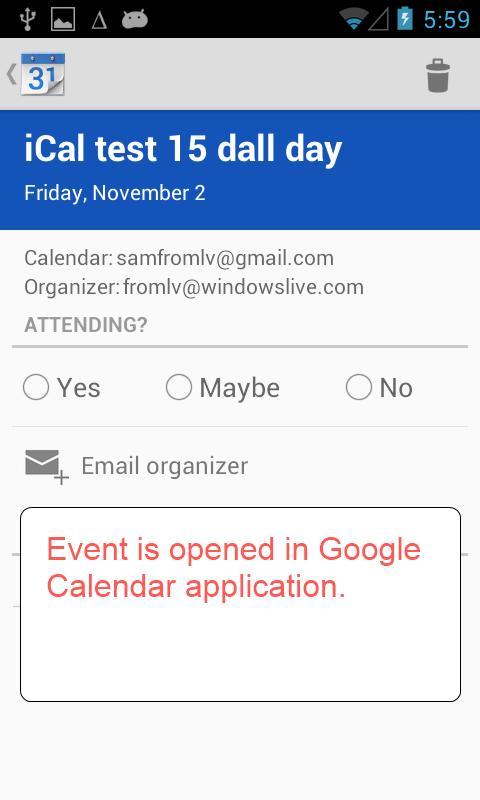 Invitation Plugin - screenshot