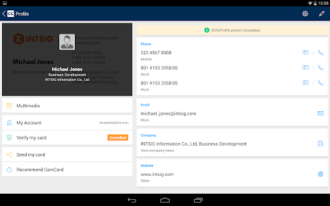 CamCard - Business Card Reader v5.5.0.20141020
