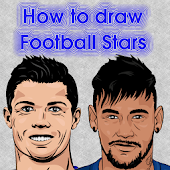 Draw a football legend