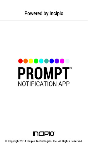 PROMPT™ Notification App