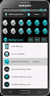 玩個人化App|Xposed Cyan Droid Battery免費|APP試玩