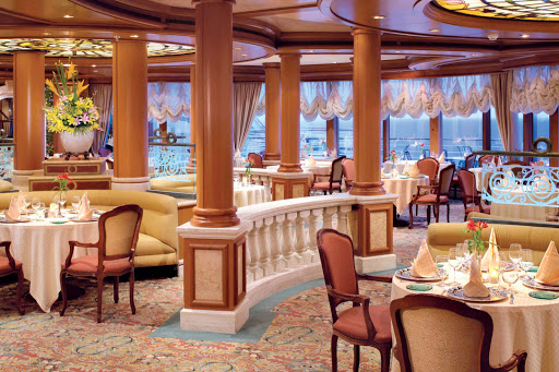 Sabitinis-restaurant-Princess-Cruises-2 - Sabitini's Italian Restaurant aboard your Princess ship offers guests a wide selection of Mediterranean dishes.