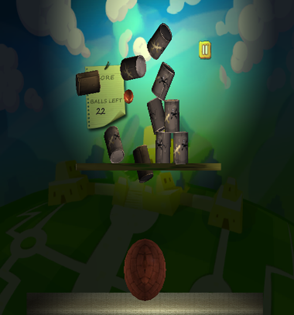 Stone ball cans - screenshot
