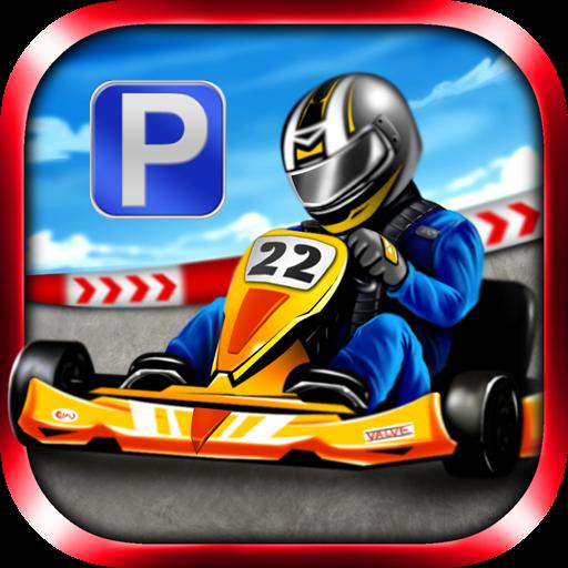 Go Kart Parking & Racing Game LOGO-APP點子