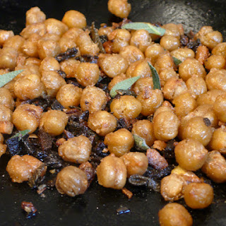 Roasted Chickpeas with Garlic and Sage.