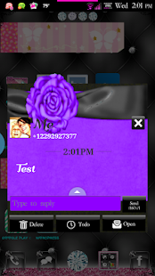 Simply Passion GO SMS Theme - screenshot thumbnail