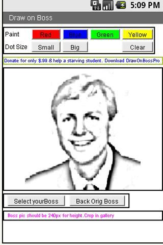 Draw On Your Boss- screenshot