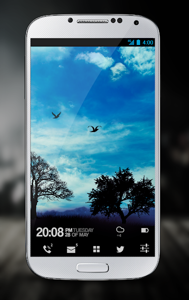 Blue Sky Pro Live Wallpaper v1.5.1