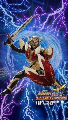 「劇場版 仮面ライダー鎧武」 電池残量型ライブ壁紙のおすすめ画像1