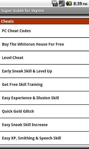 Super Guide - Skyrim Edition