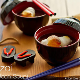 Zenzai (Red Bean Soup)