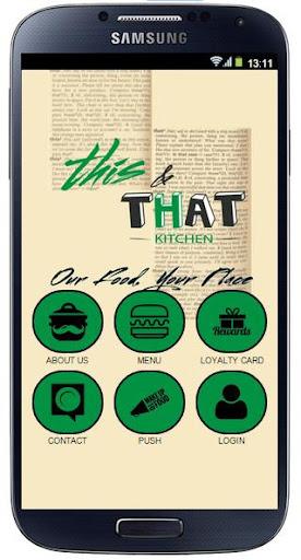 This That Kitchen