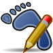 Walk N Text-Transparent Screen icon