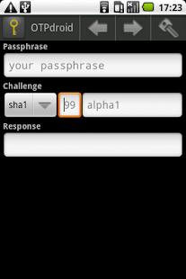 OTPdroid- screenshot thumbnail