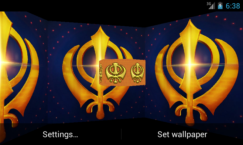 Khanda 3D Live Wallpaper - Android Apps on Google Play