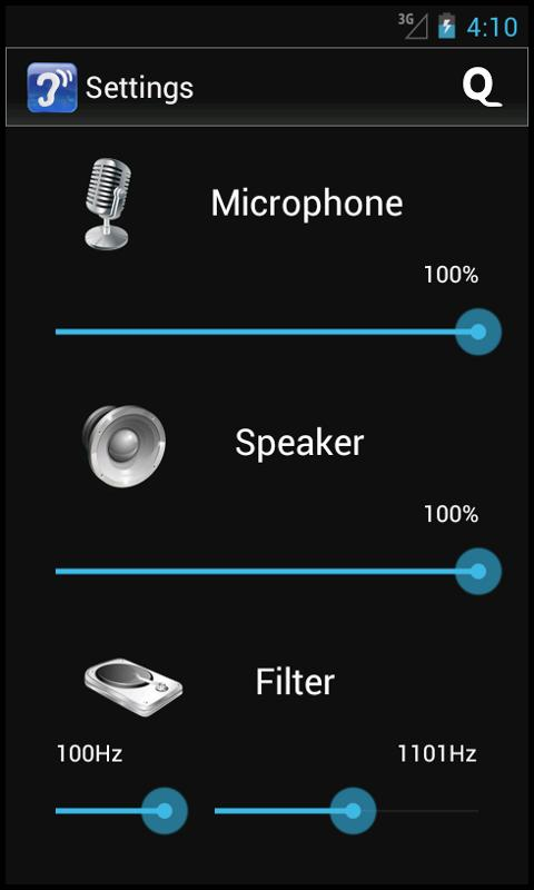 Hearing Aid – Cochlear - screenshot