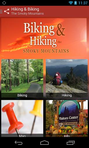 Hiking Biking Smoky Mountains