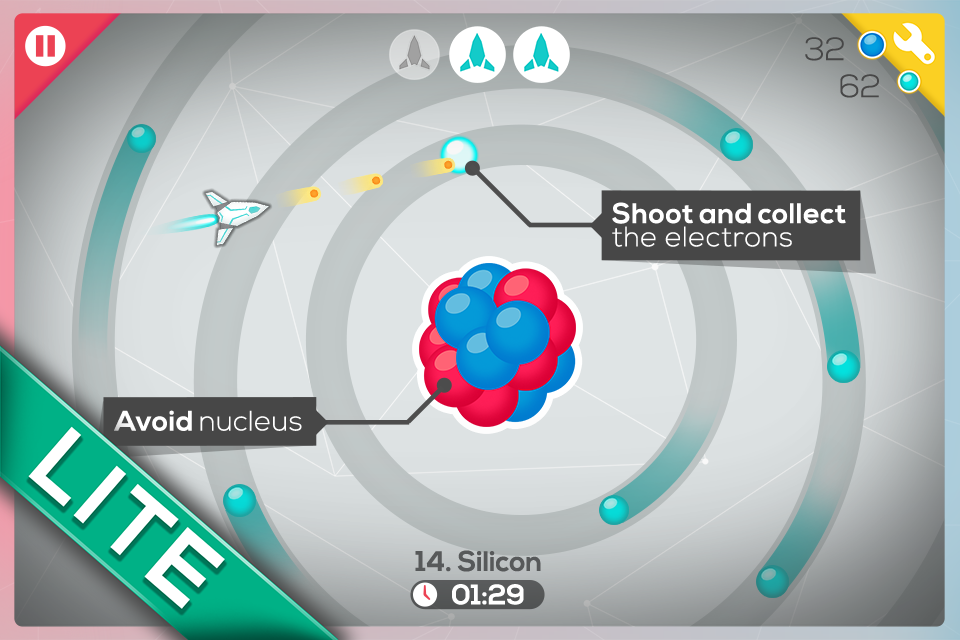 Atom Shooter Lite - screenshot