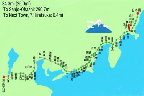 Tokaido 53 Journey to Kyoto