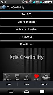 Xda Credibility
