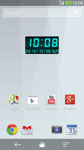 玩免費個人化APP|下載LED數字時鐘部件 C-Me Clock app不用錢|硬是要APP