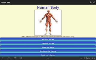 Screenshot of Human Body - Anatomy