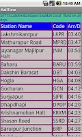 Screenshot of Kolkata Suburban Trains