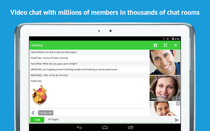 Camfrog - Group Video Chat Screenshot 7
