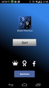 Brain Practice - A Brain Tuner - screenshot thumbnail
