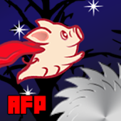 Angry Flying Pig