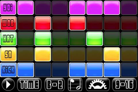 Dubstep Jam Music Sequencer - screenshot