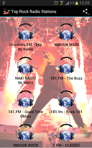 Top Rock Radio Stations Apk Download 1