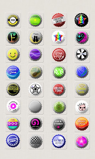 【免費娛樂App】CUKI Theme Beer Cap Icon-APP點子