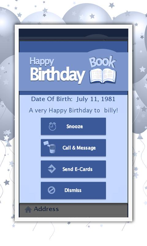 Baby & Kids Birthday Planner - screenshot