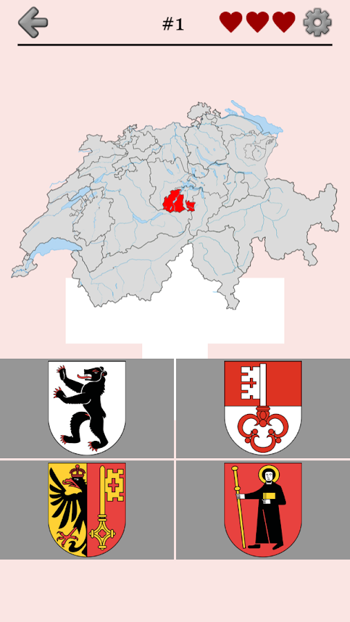 Swiss Cantons Switzerland Quiz Android Apps On Google Play