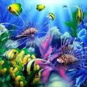 Ocean Aquarium HD Wallpaper logo