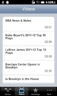 NBA Box Score - screenshot thumbnail