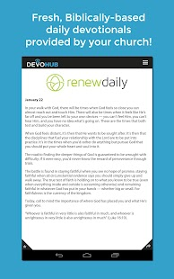 DevoHub: Daily Devotions- screenshot thumbnail