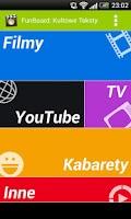 Screenshot of FunBoard: Śmieszne Teksty