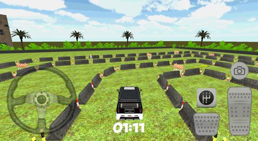 3D悍馬停車場