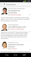 Screenshot of FAZ.NET - Nachrichten