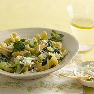 Fiore With Broccoli Rabe, Chicken, and Pecorino Cheese
