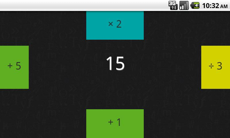 Zero - The Math Game- screenshot