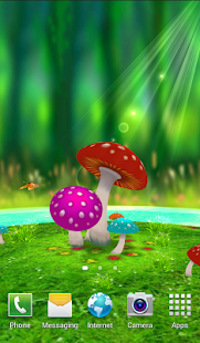 Mushrooms Livewallpaper